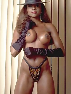 Vintage Black Pornstars Biggest Ebony Tits In The World
