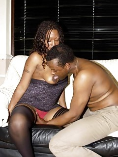 Pure Interracial Group Sex Ebony Shaved Pussy