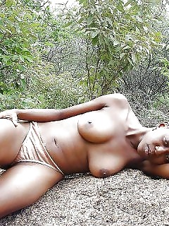 Sexy Pretty African Goddess Pump Ebony