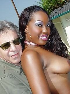 Amazing Black Angel Wears Her Breathtaking Pink Nylons And Gets Her Roundass Licked By The Pool