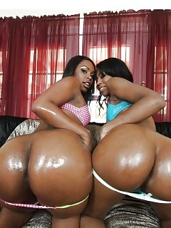 Black Label Beautiful Ebony Women