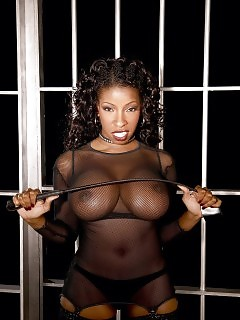 Ebony GF In Nylon Ebony Cuties