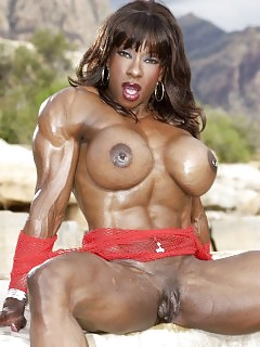 Muscle Black Women Big Black Tits