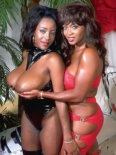 Vintage Black Pornstars Hot Ebony Video
