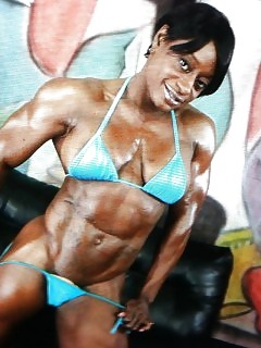 Muscle Black Women Black Maid